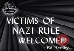 Image of Victims of Nazi Rule Welcomed New York United States USA, 1946, second 10 stock footage video 65675036127