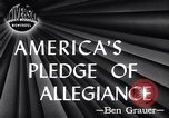 Image of Pledge of Allegiance by Americans New York City USA, 1946, second 5 stock footage video 65675036128