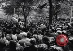 Image of Pledge of Allegiance by Americans New York City USA, 1946, second 10 stock footage video 65675036128