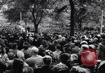 Image of Pledge of Allegiance by Americans New York City USA, 1946, second 11 stock footage video 65675036128