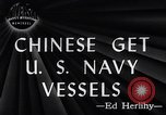 Image of Chinese Get US Navy Vessel San Diego California USA, 1946, second 1 stock footage video 65675036130