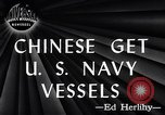 Image of Chinese Get US Navy Vessel San Diego California USA, 1946, second 2 stock footage video 65675036130