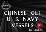 Image of Chinese Get US Navy Vessel San Diego California USA, 1946, second 3 stock footage video 65675036130