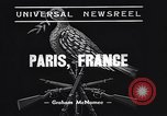 Image of signing of Franco-Nazi Peace Pact Paris France, 1938, second 10 stock footage video 65675036135