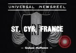 Image of training school of French Army Saint Cyr France, 1938, second 1 stock footage video 65675036138