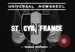 Image of training school of French Army Saint Cyr France, 1938, second 2 stock footage video 65675036138