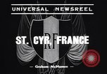 Image of training school of French Army Saint Cyr France, 1938, second 3 stock footage video 65675036138