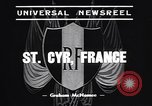 Image of training school of French Army Saint Cyr France, 1938, second 4 stock footage video 65675036138