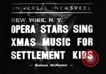 Image of Metropolitan Opera Stars New York United States USA, 1938, second 1 stock footage video 65675036140