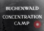 Image of Buchenwald concentration camp Buchenwald Germany, 1945, second 5 stock footage video 65675036150