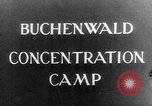 Image of Buchenwald concentration camp Buchenwald Germany, 1945, second 10 stock footage video 65675036150