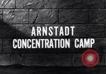 Image of Arnsdadt concentration camp Arnstadt Germany, 1945, second 2 stock footage video 65675036160