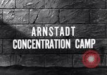 Image of Arnsdadt concentration camp Arnstadt Germany, 1945, second 4 stock footage video 65675036160