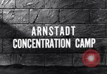 Image of Arnsdadt concentration camp Arnstadt Germany, 1945, second 5 stock footage video 65675036160