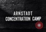 Image of Arnsdadt concentration camp Arnstadt Germany, 1945, second 7 stock footage video 65675036160