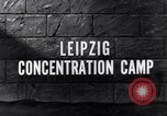 Image of Leipzig concentration camp Leipzig Germany, 1945, second 5 stock footage video 65675036161