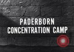 Image of Paderborn concentration camp Paderborn Germany, 1945, second 2 stock footage video 65675036166