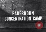 Image of Paderborn concentration camp Paderborn Germany, 1945, second 3 stock footage video 65675036166