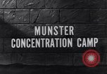 Image of Munster concentration camp Munster Germany, 1945, second 2 stock footage video 65675036167