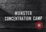 Image of Munster concentration camp Munster Germany, 1945, second 4 stock footage video 65675036167