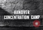 Image of Hanover concentration camp Hanover Germany, 1945, second 2 stock footage video 65675036170