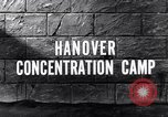 Image of Hanover concentration camp Hanover Germany, 1945, second 5 stock footage video 65675036170