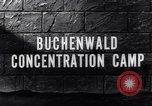 Image of Buchenwald concentration camp Buchenwald Germany, 1945, second 2 stock footage video 65675036171