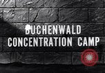 Image of Buchenwald concentration camp Buchenwald Germany, 1945, second 5 stock footage video 65675036171