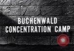 Image of Buchenwald concentration camp Buchenwald Germany, 1945, second 6 stock footage video 65675036171