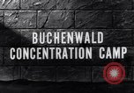 Image of Buchenwald concentration camp Buchenwald Germany, 1945, second 8 stock footage video 65675036171