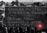 Image of Allied troops Bougainville Island Papua New Guinea, 1943, second 6 stock footage video 65675036173