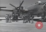 Image of engine B-29 bomber Iwo Jima, 1945, second 5 stock footage video 65675036218