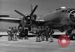 Image of engine B-29 bomber Iwo Jima, 1945, second 8 stock footage video 65675036218