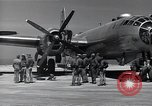 Image of engine B-29 bomber Iwo Jima, 1945, second 9 stock footage video 65675036218
