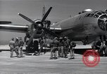 Image of engine B-29 bomber Iwo Jima, 1945, second 10 stock footage video 65675036218