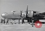 Image of B-29 bomber repaired Iwo Jima, 1945, second 8 stock footage video 65675036224