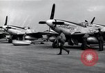 Image of P-51 Mustangs Iwo Jima, 1945, second 8 stock footage video 65675036226