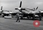 Image of P-51 Mustangs Iwo Jima, 1945, second 9 stock footage video 65675036226