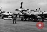 Image of P-51 Mustangs Iwo Jima, 1945, second 10 stock footage video 65675036226