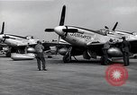 Image of P-51 Mustangs Iwo Jima, 1945, second 12 stock footage video 65675036226
