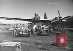 Image of B-29 bombers Saipan Northern Mariana Islands, 1945, second 5 stock footage video 65675036231