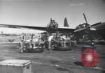 Image of B-29 bombers Saipan Northern Mariana Islands, 1945, second 6 stock footage video 65675036231