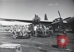 Image of B-29 bombers Saipan Northern Mariana Islands, 1945, second 9 stock footage video 65675036231