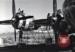 Image of damaged B-29 bomber Saipan Northern Mariana Islands, 1945, second 3 stock footage video 65675036245