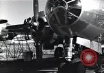Image of damaged B-29 bomber Saipan Northern Mariana Islands, 1945, second 6 stock footage video 65675036245