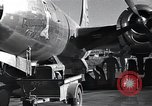 Image of damaged B-29 bomber Saipan Northern Mariana Islands, 1945, second 9 stock footage video 65675036245