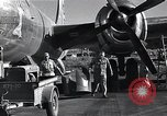 Image of damaged B-29 bomber Saipan Northern Mariana Islands, 1945, second 11 stock footage video 65675036245