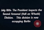 Image of President Harry Truman Berlin Germany, 1945, second 2 stock footage video 65675036261