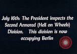 Image of President Harry Truman Berlin Germany, 1945, second 4 stock footage video 65675036261