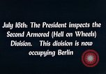 Image of President Harry Truman Berlin Germany, 1945, second 6 stock footage video 65675036261